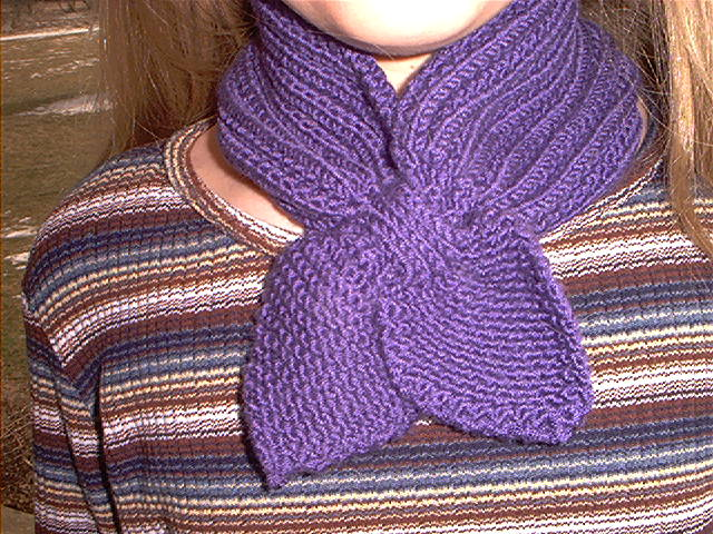 Neck cozy closeup
